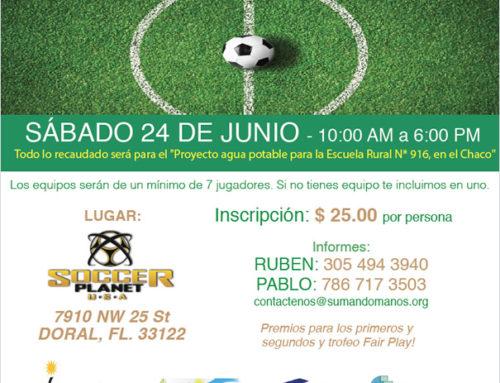 """Torneo de Futbol en Honor a """"Guillermo Donaire"""""""