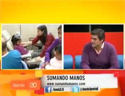 Sumando Manos en el Programa Banda 3.0 con Paula Torres